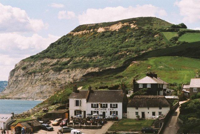 File:Seatown and Golden Cap - geograph.org.uk - 521914.jpg ...